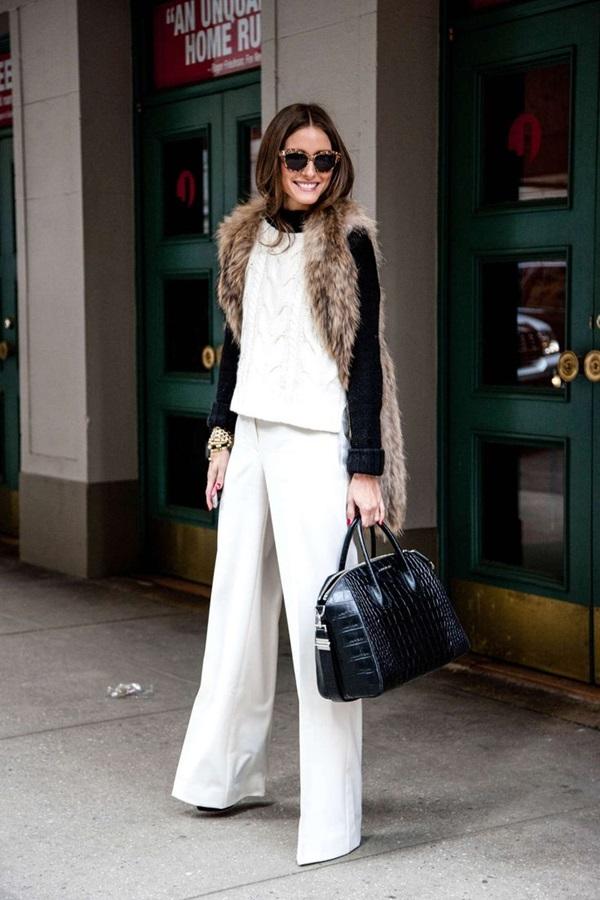 Fur Vest Outfits Ideas (5)