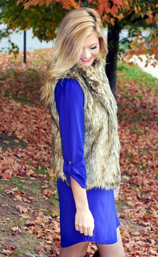 Fur Vest Outfits Ideas (6)