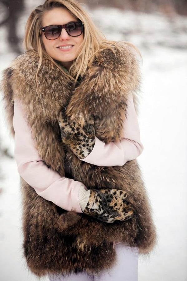 Fur Vest Outfits Ideas (7)