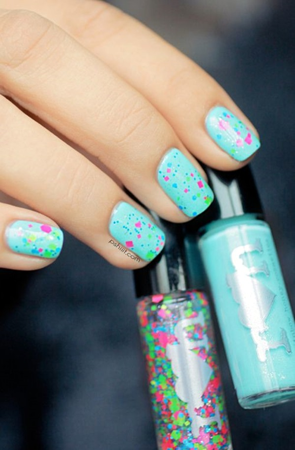 New Years Eve Nails Designs and Ideas (1)