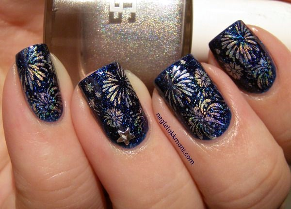 65 Easy New Years Eve Nails Designs And Ideas 2019