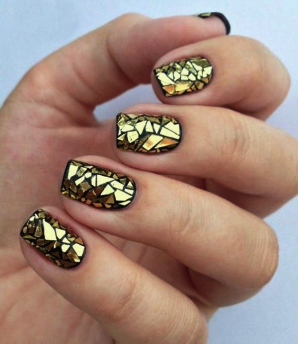 New Years Eve Nails Designs and Ideas