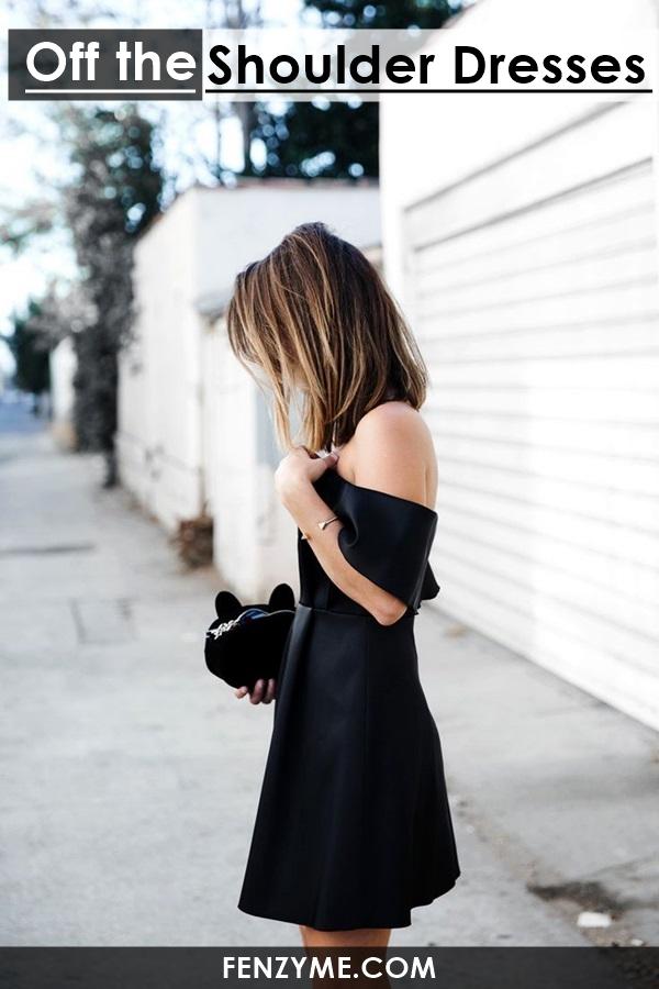 Off the Shoulder Dresses (15)