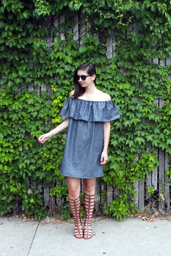 Off the Shoulder Dresses (7)