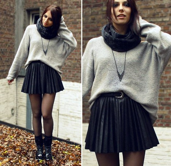 Scarf Outfit Ideas to try this Winter (1)