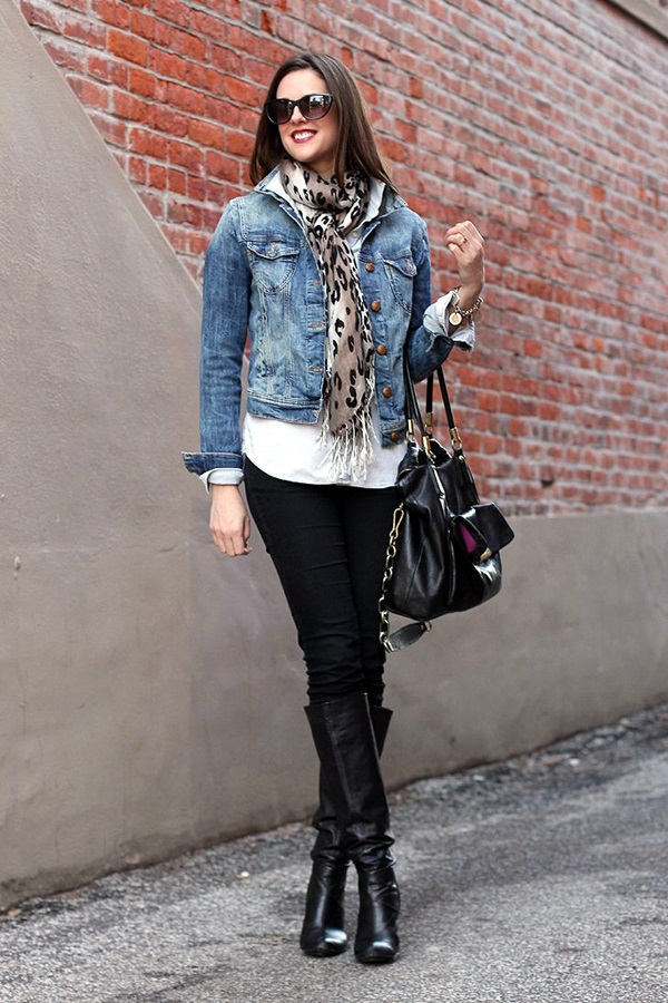 Scarf Outfit Ideas to try this Winter (5)