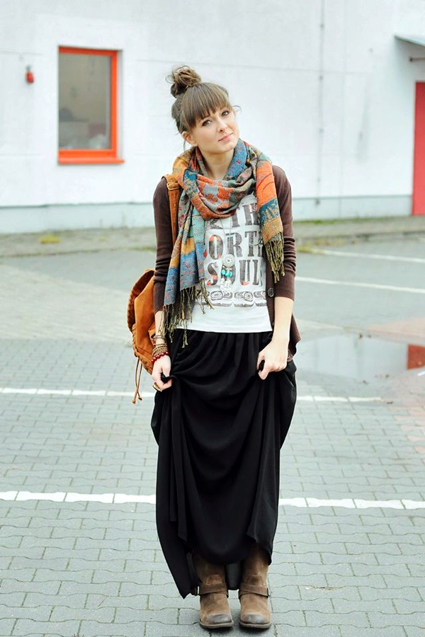 Scarf Outfit Ideas to try this Winter (7)