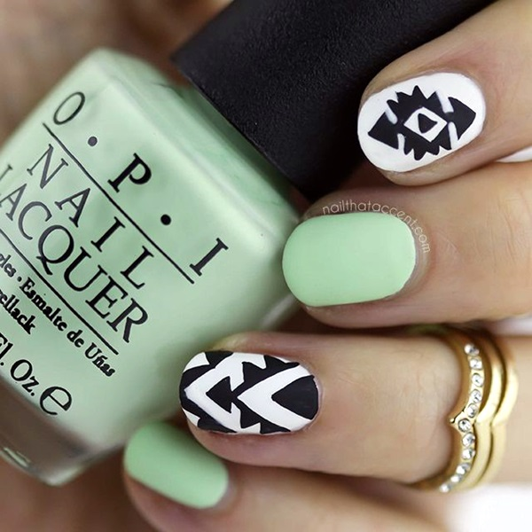 Spring Nails Designs and Colors Ideas (11)