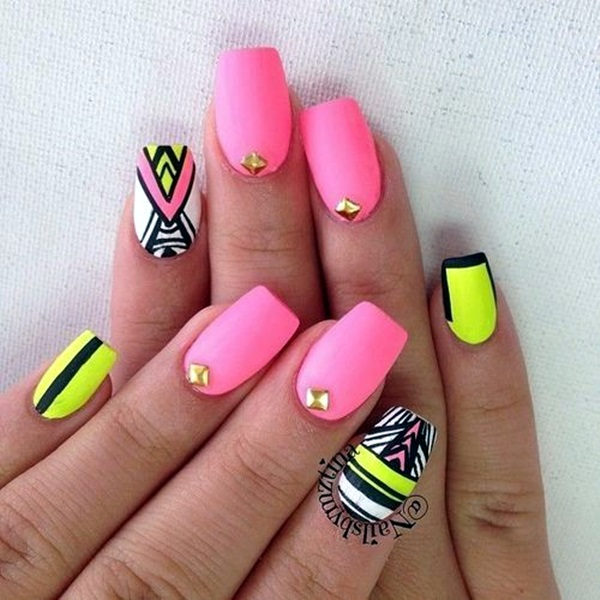 Spring Nails Designs and Colors Ideas (21)