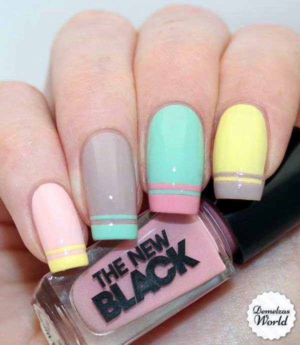 Spring Nails Designs and Colors Ideas (22)