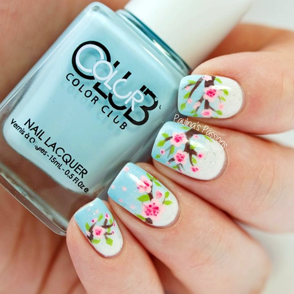 Spring Nails Designs and Colors Ideas (23)