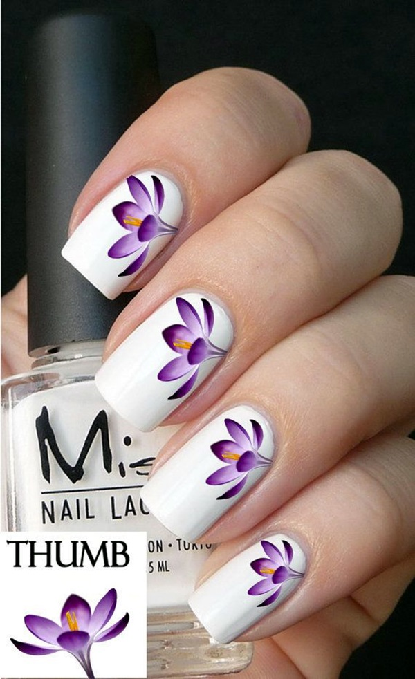 Spring Nails Designs and Colors Ideas (27)