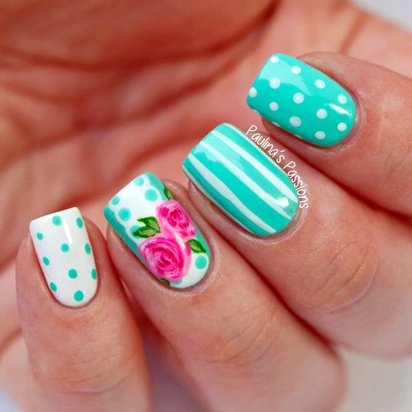 Spring Nails Designs and Colors Ideas (28)