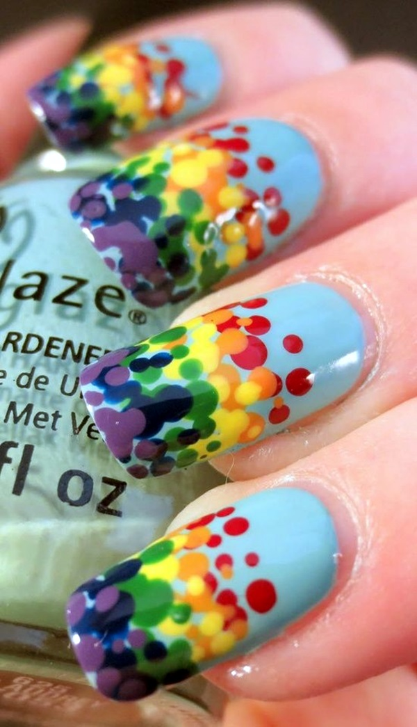 Spring Nails Designs and Colors Ideas (6)