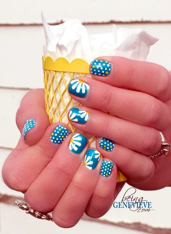 Spring Nails Designs and Colors Ideas (7)