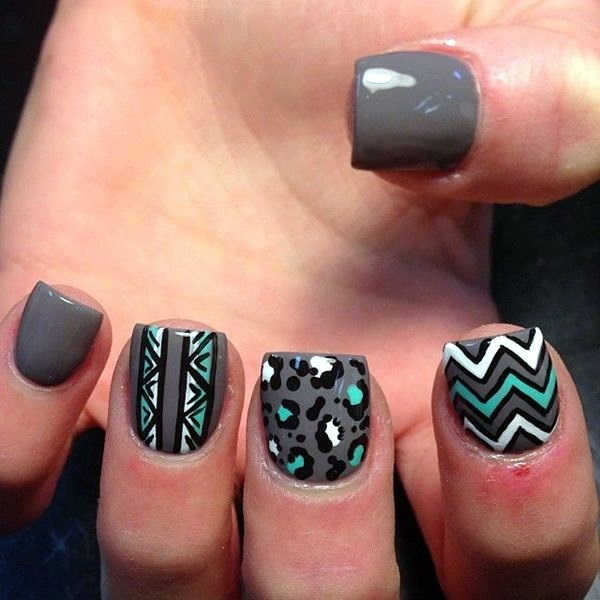 Acrylic Nail Art Designs (10)