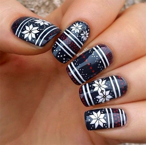 Acrylic Nail Art Designs (15)