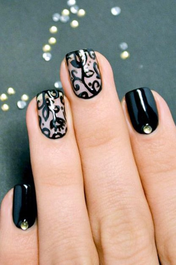 Acrylic Nail Art Designs (2)