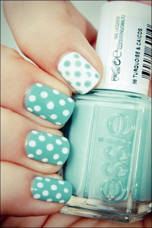 Blue Nail Art Designs and Ideas (30)