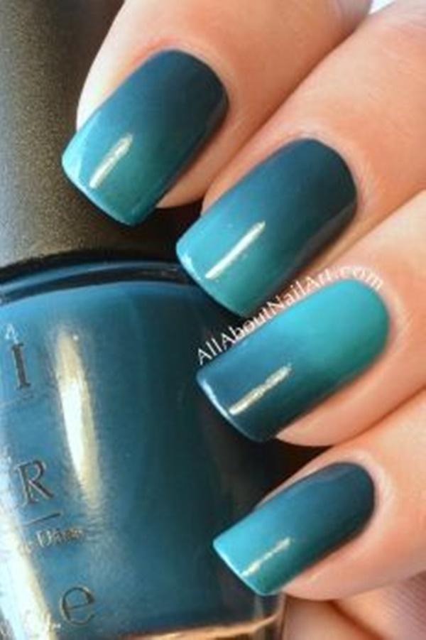 Blue Nail Art Designs and Ideas (41)