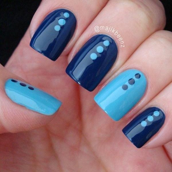 Blue Nail Art Designs and Ideas (47)