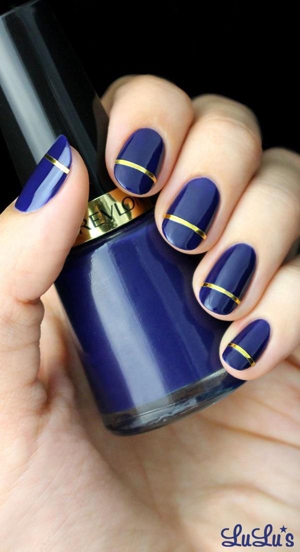 Blue Nail Art Designs and Ideas (5)