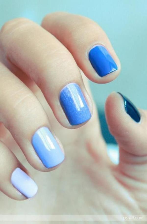 Blue Nail Art Designs and Ideas (52)