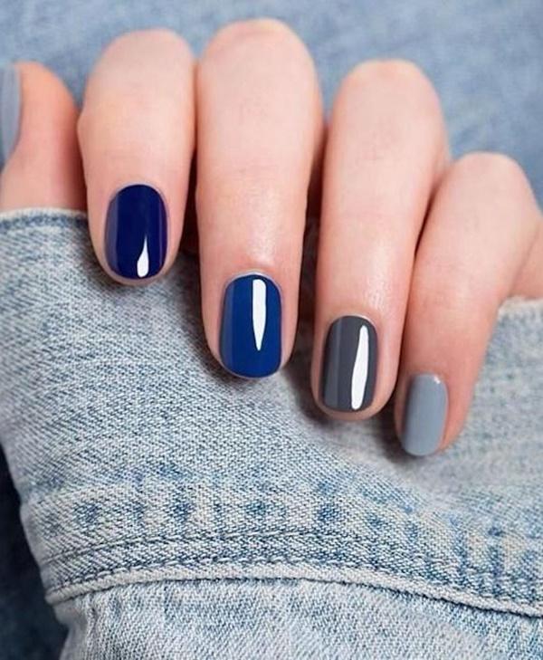 Blue Nail Art Designs and Ideas (53)