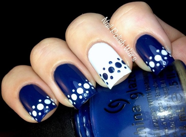 Blue Nail Art Designs and Ideas (56)