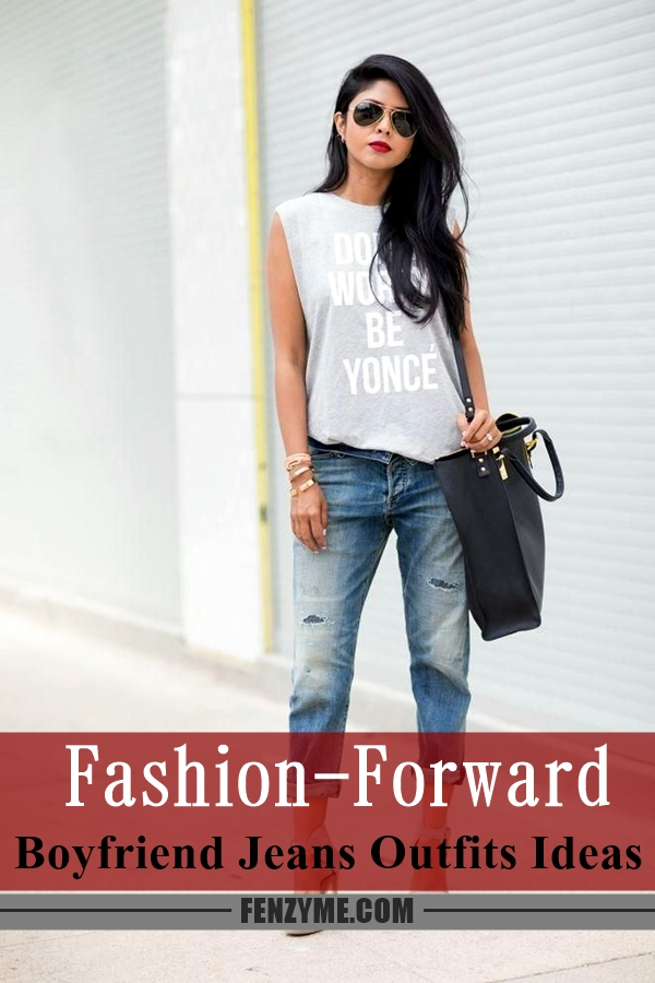 Boyfriend Jeans Outfits Ideas (1)