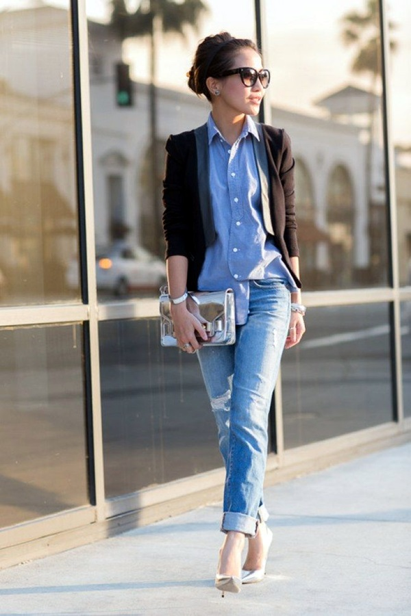 Boyfriend Jeans Outfits Ideas (10)