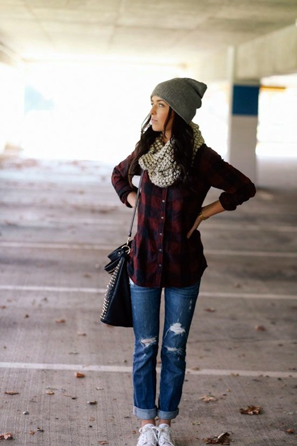 Boyfriend Jeans Outfits Ideas (11)