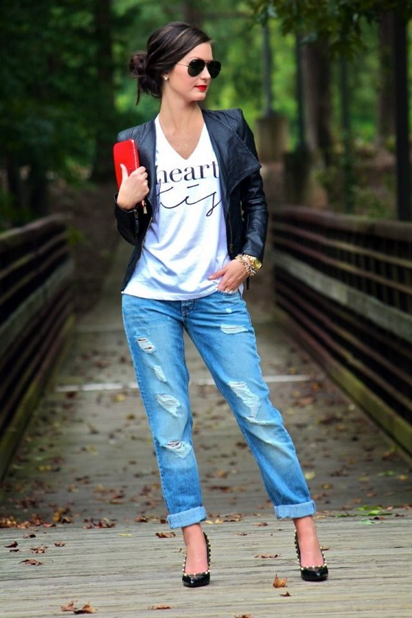 Boyfriend Jeans Outfits Ideas (15)