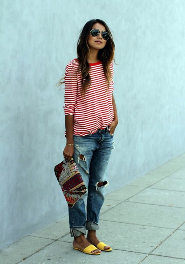 Boyfriend Jeans Outfits Ideas (7)