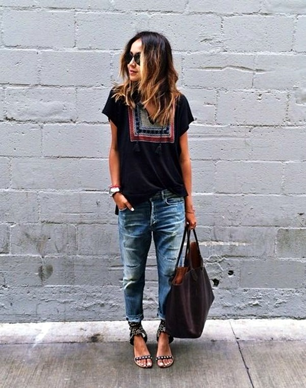 Boyfriend Jeans Outfits Ideas (9)