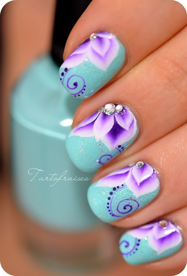 Creative and Pretty Nail Designs Ideas (19)