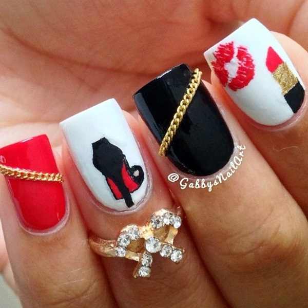 Creative and Pretty Nail Designs Ideas (2)