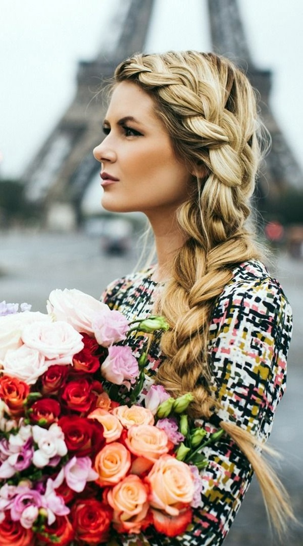 Easy Hairstyles for Long Thick Hair (1)