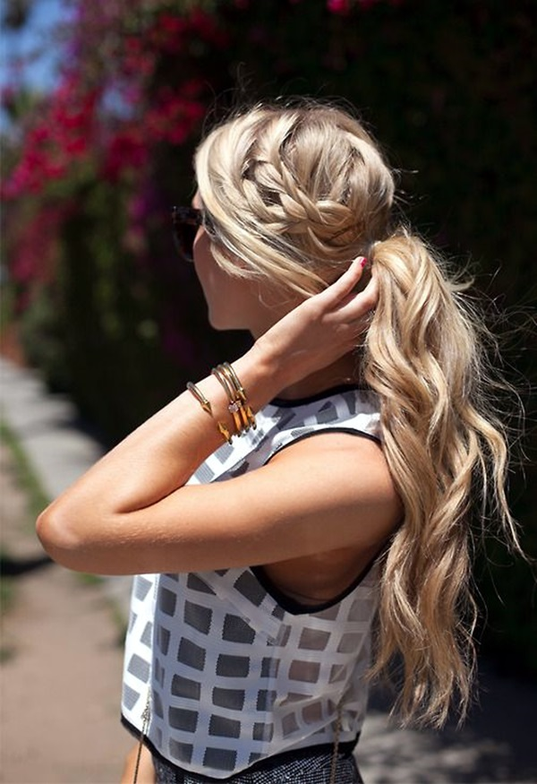 Easy Hairstyles for Long Thick Hair (3)