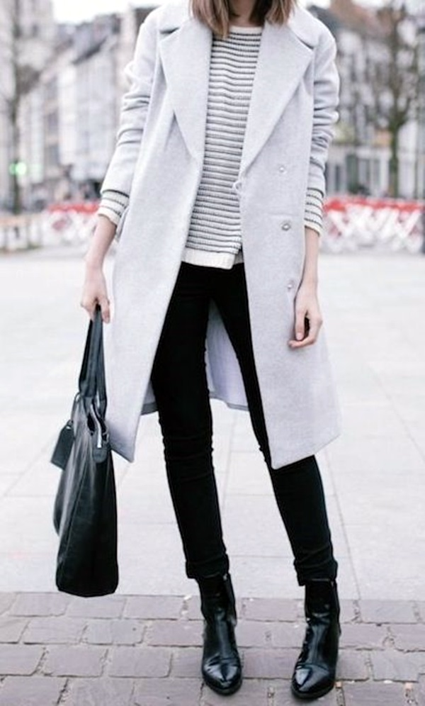 Layering Clothes Ideas for Winter (10)