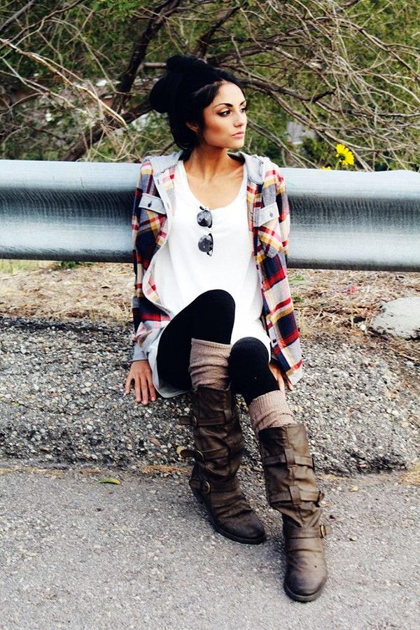 Layering Clothes Ideas for Winter (13)