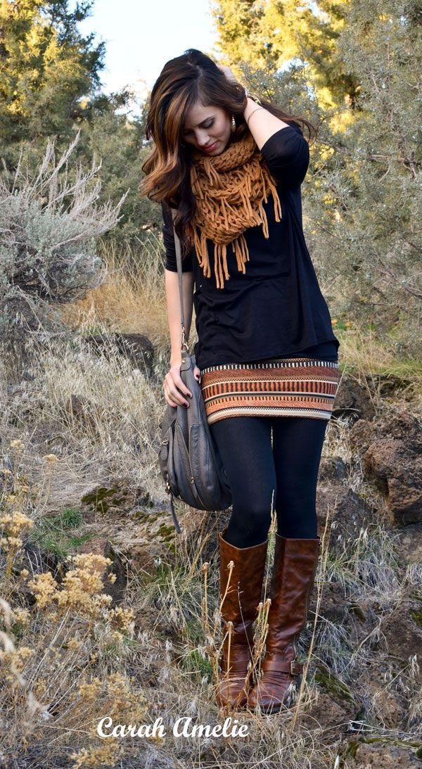 Layering Clothes Ideas for Winter (15)