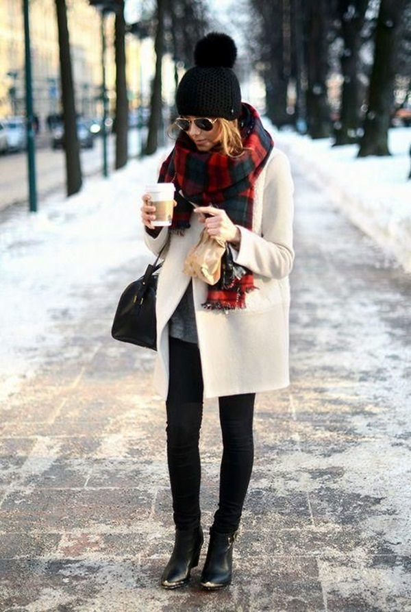 Layering Clothes Ideas for Winter (18)