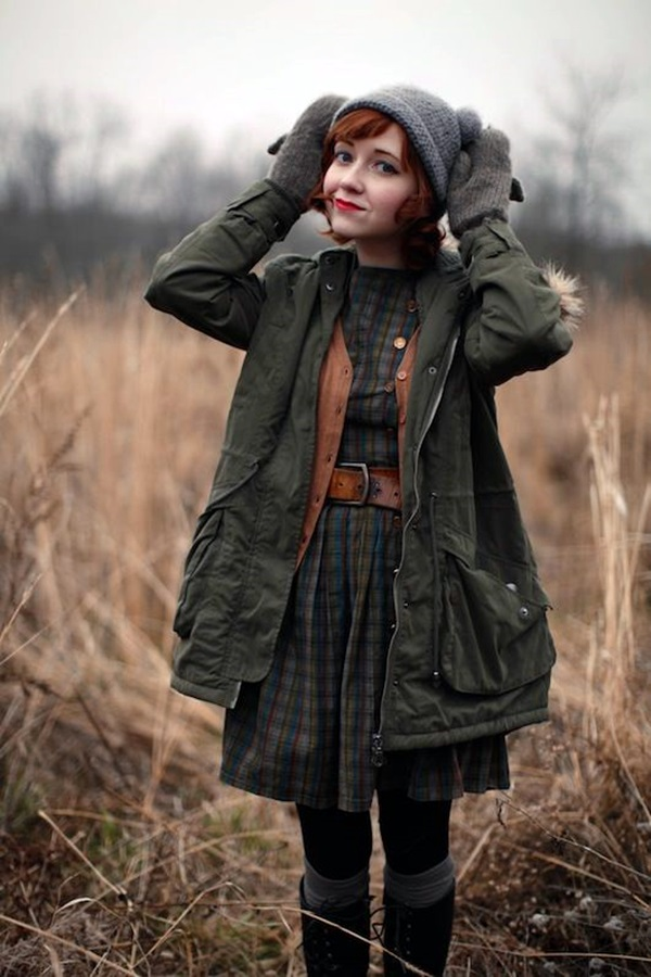 Layering Clothes Ideas for Winter (5)