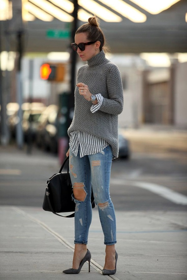Layering Clothes Ideas for Winter (8)