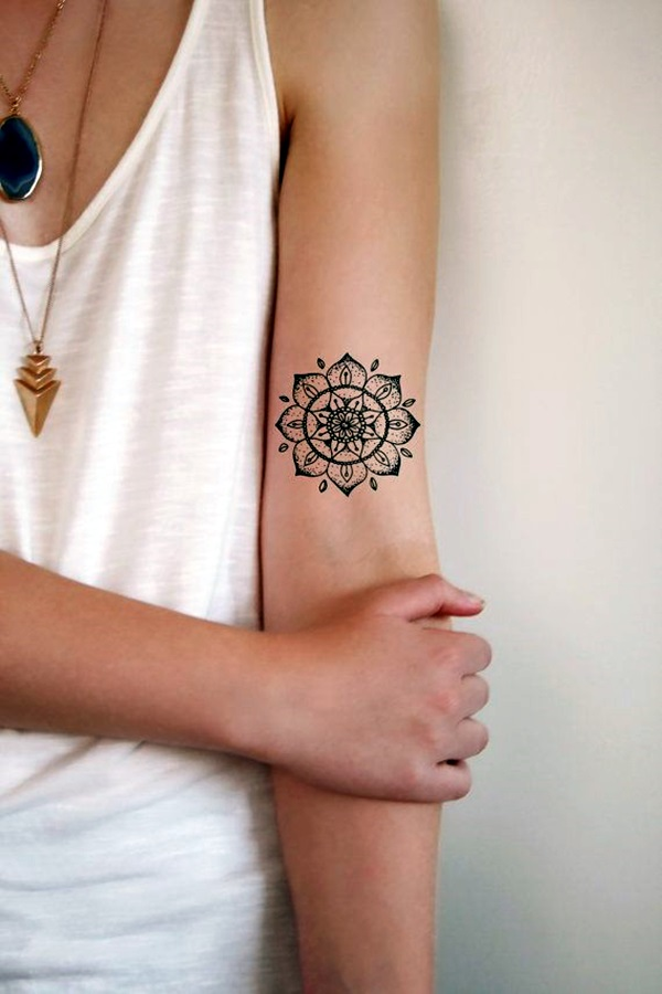 Mandala Tattoo Designs For Women (1)