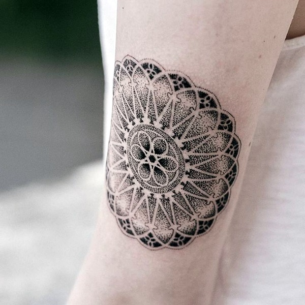 Mandala Tattoo Designs For Women (2)