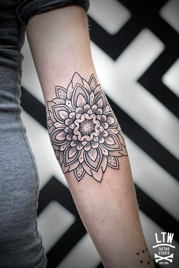 Mandala Tattoo Designs For Women (3)