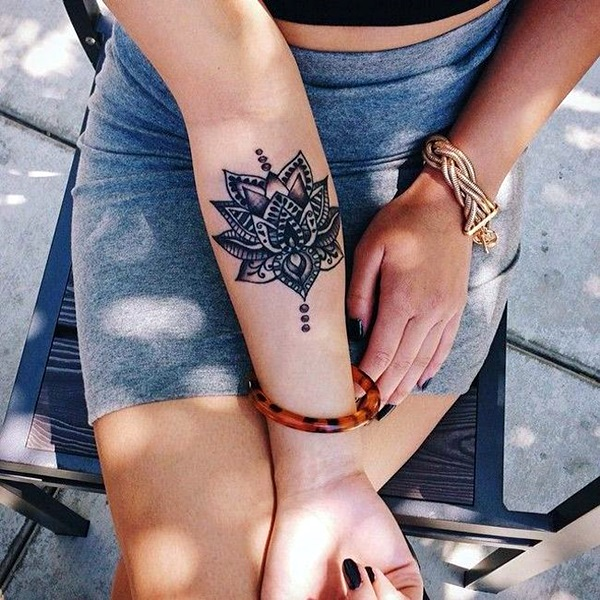 Mandala Tattoo Designs For Women (5)