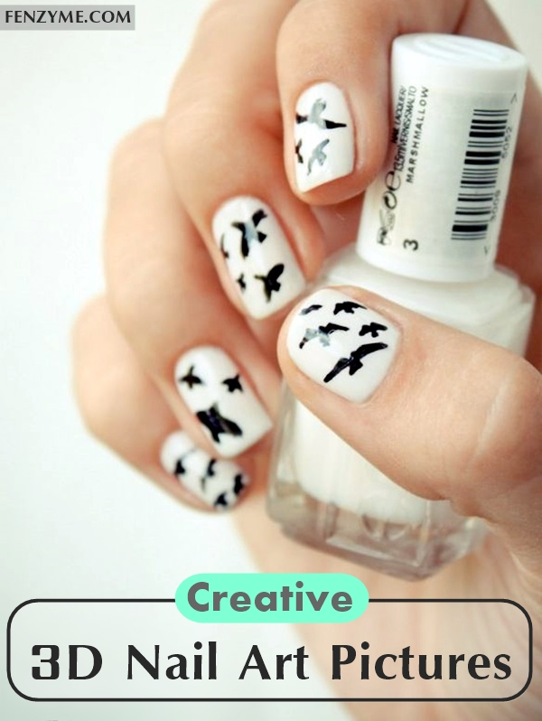 Creative 3D Nail Art Pictures (1)